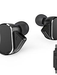 Недорогие -BQEYZ BQ3 Hi-Fi наушники металлический корпус спортивная гарнитура 3 сбалансированная арматура 2 динамические драйверы наушников