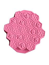 Недорогие -1шт силикагель Печенье Для торта Прямоугольный Формы для пирожных Инструменты для выпечки