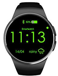 Недорогие -Смарт Часы Цифровой Современный Спортивные силиконовый 30 m Защита от влаги Пульсомер Bluetooth Цифровой На каждый день На открытом воздухе - Черный Золотой Серебряный