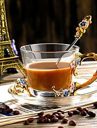 Недорогие -Drinkware Набор для питья стекло / Алюминиево-магниевый сплав Компактность / Мини / Boyfriend Подарок День рождения / Подарок