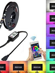 Недорогие -Brelong RGB Smart Bluetooth приложение музыки индукции водонепроницаемый световой полосой 1 шт.