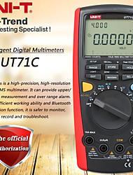 Недорогие -uni-t ut71c умный цифровой мультиметр true rms мультиметр USB / Bluetooth передача данных двойная подсветка тест температуры