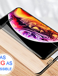 Недорогие -полное покрытие закаленное стекло без границы взрывозащищенный защитная пленка для экрана для iphone xs max / xr / xs / x / 7 / 7s / 8 / 8s plus