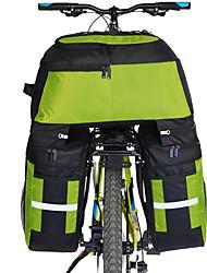 Недорогие -FJQXZ 70 L Сумка на багажник велосипеда / Сумка на бока багажника велосипеда Сумки на багажник велосипеда 3 В 1 Большая вместимость Водонепроницаемость Велосумка/бардачок Полиэстер 1680D
