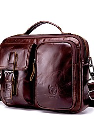 Недорогие -(bullcaptain) винтажная кожаная сумка через плечо