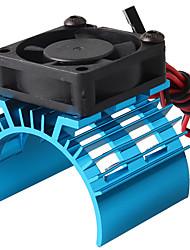 Недорогие -BAGGEE Motor Heat Sink with Cooling Fan - 1 шт. Запасная часть / Other Металл
