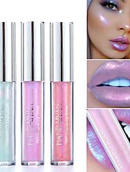 Недорогие -сексуальная 6 цвет блестящий блеск для губ лазерная голографическая помада русалка пигмент поляризованный блеск для губ изобилие металл жемчужный блеск макияж