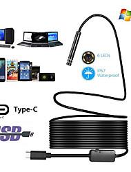 Недорогие -HD промышленный эндоскоп типа c android эндоскоп водонепроницаемый мобильный телефон эндоскоп кондиционер труба жесткая линия 10 метров