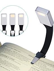 Недорогие -Brelong светодиодный свет для чтения USB зарядки ночной свет клип свет 3 режим регулировки книга свет серебро
