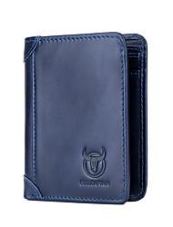 Недорогие -(bullcaptain) мужской многофункциональный бизнес случайный кошелек короткий параграф первый слой кожа молодежный водительские права пакет бумажник карты