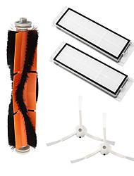 Недорогие -Комплект для xiaomi mi робот пылесос smart аксессуары аксессуары невидимые боковые щетки фильтра подвижного куста