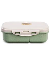 Недорогие -1шт Ланч-боксы Пластик Аксессуар для хранения Для приготовления пищи Посуда
