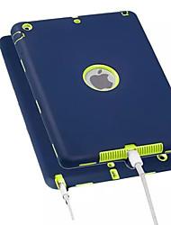 Недорогие -Кейс для Назначение Apple iPad Air / iPad 4/3/2 / iPad Mini 3/2/1 Защита от удара Кейс на заднюю панель Однотонный Мягкий ПК / силикагель / iPad Pro 10.5 / iPad (2017)