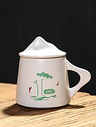 Недорогие -Drinkware Набор для питья / Кружки и Чашки Фарфор Boyfriend Подарок / Милые Подарок