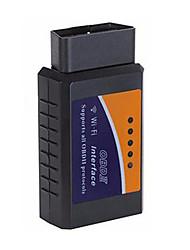 Недорогие -elm 327 wifi v1.5 obd2 obdii автомобильный диагностический сканер pic18f25k80 чип obd 2 авто считыватель кодов android / ios диагностический инструмент