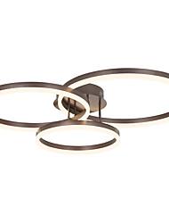 Недорогие -3-х голова современная простота вел потолочная акриловая гостиная столовая спальня светильник