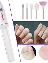 Недорогие -мода 5 в 1 электрический маникюр уход за ногтями маникюр ногтей дрель полировка файл ручка инструмент шлифовальный станок груминг
