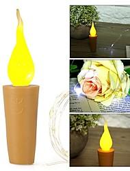 Недорогие -Brelong 2 м 20led медная проволока лампа бутылка вина лампа пробка теплый белый с питанием от батареи светодиодный свет шнура для украшения поделки партия рождество хэллоуин свадьба