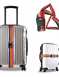 Недорогие -Дорожная сумка / Багажный ремешок для путешествий / Пряжка ремня безопасности Регулируется / Прочный Нейлон 180*5 cm