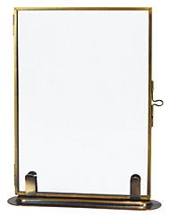 Недорогие -Современный современный Железо Окрашенные отделки Рамки для картин, 2pcs