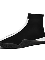Недорогие -Муж. Комфортная обувь Tissage Volant Весна Спортивная обувь Для прогулок Дышащий Черный / Белый / Красный