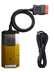 Недорогие -ds150e автомобильная диагностика OBD диагностический сканер с 8 автомобильными кабелями 16pin