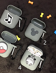 cheap -AirPods Case Lovely  Pattern Shockproof Protective Cartoon Cover Portable For AirPods1 & AirPods2 (AirPods Charging Case Not Included)