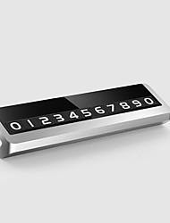 Недорогие -сплав металлическая парковка телефон номерной знак карты универсальный скрытый авто мобильный временный знак остановки