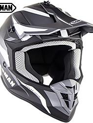 Недорогие -Профессиональный зоман марки мотокросс шлем женщины мужчина сверхлегкие мотоциклетные шлемы sm633
