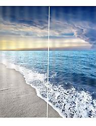 Недорогие -high-end индивидуальные 3d печать чертежи высокой четкости многоцелевой занавес утолщение тени водонепроницаемый занавес ванной комнаты офис гостиной звукоизоляция и теплоизоляция занавес