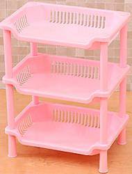 Недорогие -1шт Полки и держатели Пластик Аксессуар для хранения Для приготовления пищи Посуда