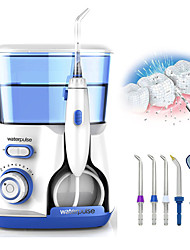 Недорогие -Waterpulse стоматологическая зубная нить электрический ирригатор для полости рта 800 мл водоструйный мощный флоссер 100-240 В