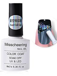 Недорогие -клей для ногтей клейкая пленка 8мл звездное небо стикер для переноса клея аксессуар для ногтей без необходимости отверждения уф лампы