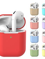 Недорогие -чехол для AirPods защитный силиконовый чехол для Apple, аксессуары для AirPods