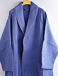 Недорогие -Высшее качество Банный халат, Однотонный 100% полиэстер 1 pcs