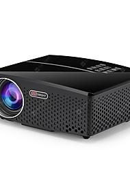 Недорогие -Gp80 жк-светодиодный проектор 1080 P HD 1800 люмен мини портативный проектор для домашнего кинотеатра Supprot 1080 P USB HDMI