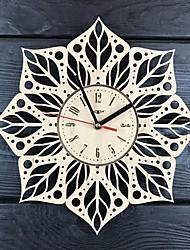 Недорогие -Мандала настенные часы из дерева украсят ваш дом современным искусством - размер 12 дюймов
