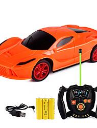 Недорогие -Машинка на радиоуправлении 582820 2-Kанальн. Инфракрасный Автомобиль 1:24 Бесколлекторный электромотор 7.2 km/h Беспроводной / Молодежный