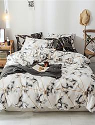 Недорогие -3 шт. Роскошные одеяла постельное белье мультфильм шаблон постельное белье хлопок пододеяльник простыня наволочки комплект