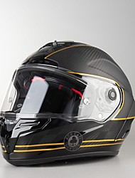 billige -race stjerne acecaf fuld ansigt teenager / voksne unisex motorcykelhjelm bedste kvalitet / anti-sved / semi aftageligt interiør