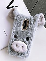 billige -etui til samsung galaxy j4 plus / j3 (2018) / j2 pro 2018 diy bagcover animalsk tekstil / tpu