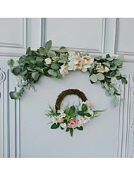 Недорогие -Кулоны деревянный 1 комплект Свадьба