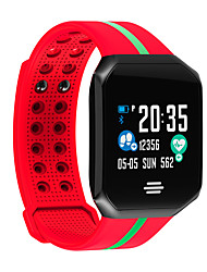 billige -b07 mulitifunktion smart ur smart armbånd fitness tracker hjerterytme blodtryk søvn& aktivitetsmonitor