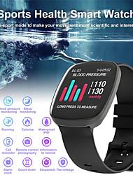 Недорогие -Смарт Часы Цифровой Современный Спортивные силиконовый 30 m Защита от влаги Пульсомер Bluetooth Цифровой На каждый день На открытом воздухе - Черный