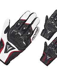Недорогие -дышащая кожа мотоциклетные перчатки гоночные перчатки мужские перчатки для мотокросса защитные перчатки с сенсорным экраном