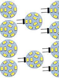 Недорогие -10 шт. 2 W Двухштырьковые LED лампы 280 lm G4 9 Светодиодные бусины SMD 5730 9-30 V