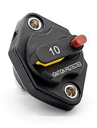 Недорогие -10a 32 В DC автоматический выключатель водонепроницаемый ручной сброс автоматический выключатель автомобиля лодка плавкий предохранитель