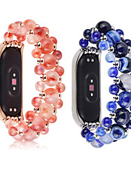 povoljno -kristalne perle agate lančani remen za proso 3 4 pametni narukvicu ručni rad mi band narukvica zamjenski dio