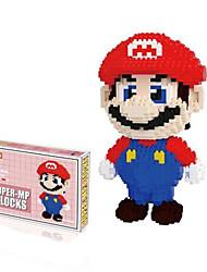 Недорогие -Супер Марио не Bros Луиджи Марио цифры строительные блоки группы моделей кирпич Minifigures игрушки не оригинальную коробку