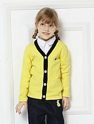 povoljno -Dijete koje je tek prohodalo Djevojčice Aktivan Jednobojni Dugih rukava Džemper i kardigan Bijela